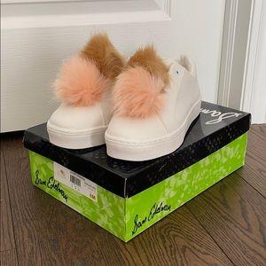 Sam Edelman Leya pompom sneaker size 8